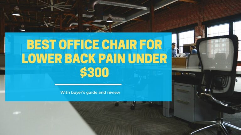best office chair for lower back pain under $300