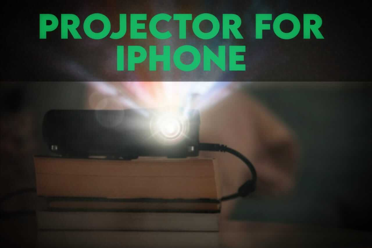 8 Best Bluetooth Projector For IPhone