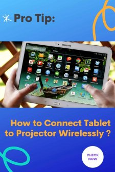 How to Connect Tablet to Projector